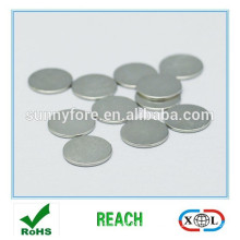 clothing button 6 x 1.5mm round magnet